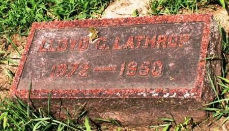LATHROP, LLOYD G. - Clayton County, Iowa   LLOYD G. LATHROP