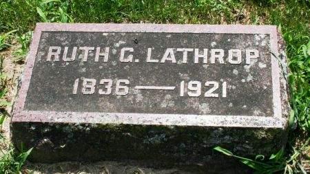 LATHROP, RUTH G. - Clayton County, Iowa | RUTH G. LATHROP