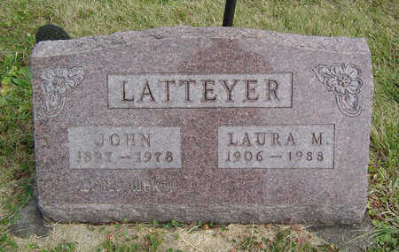 LATTEYER, LAURA M. - Clayton County, Iowa | LAURA M. LATTEYER