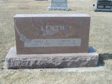 LENTH, LORENZ W. - Clayton County, Iowa | LORENZ W. LENTH