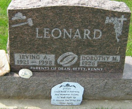 LEONARD, DOROTHY MAE - Clayton County, Iowa | DOROTHY MAE LEONARD