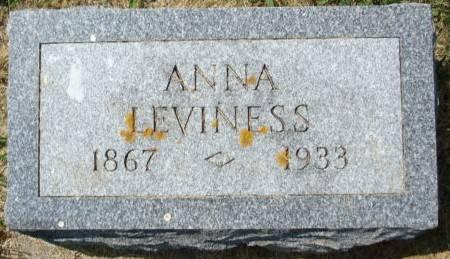 LEVINESS, ANNA - Clayton County, Iowa | ANNA LEVINESS