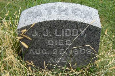 LIDDY, J. J. - Clayton County, Iowa   J. J. LIDDY