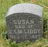 LIDDY, SUSAN - Clayton County, Iowa   SUSAN LIDDY