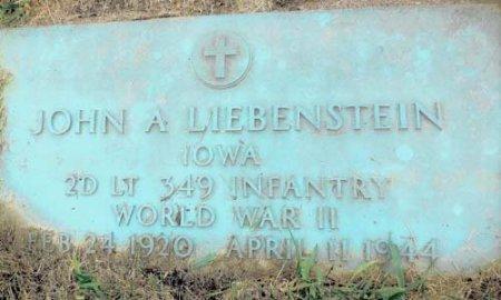 LIEBENSTEIN, JOHN A. - Clayton County, Iowa   JOHN A. LIEBENSTEIN