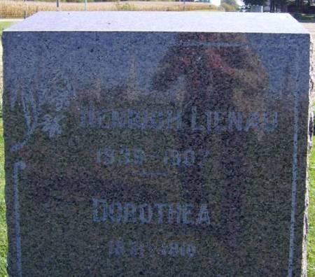 LIENAU, HEINRICH - Clayton County, Iowa   HEINRICH LIENAU