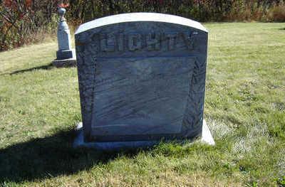 LIGHTY, EDWARD - Clayton County, Iowa   EDWARD LIGHTY