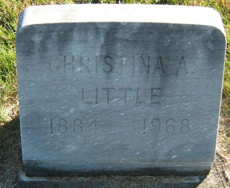 HURLEY LITTLE, CHRISTINA ANNA - Clayton County, Iowa | CHRISTINA ANNA HURLEY LITTLE