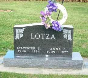 LOTZA, ANNA B. - Clayton County, Iowa | ANNA B. LOTZA