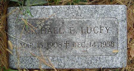 LUCEY, MICHAEL E. - Clayton County, Iowa | MICHAEL E. LUCEY