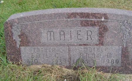 MAIER, EMIL C. - Clayton County, Iowa   EMIL C. MAIER