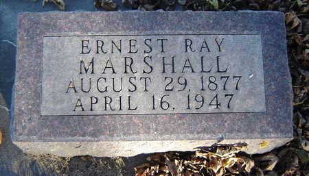 MARSHALL, ERNEST RAY - Clayton County, Iowa   ERNEST RAY MARSHALL