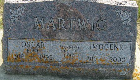 KAUFFMAN MARTWIG, IMOGENE - Clayton County, Iowa   IMOGENE KAUFFMAN MARTWIG