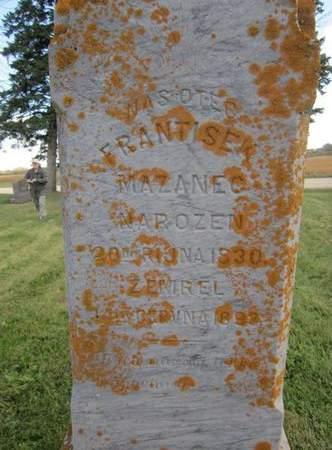 MAZANEC, FRANTISEK - Clayton County, Iowa | FRANTISEK MAZANEC