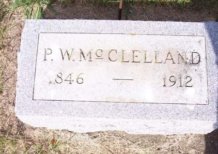MCCLELLAND, PERCIVAL W. - Clayton County, Iowa | PERCIVAL W. MCCLELLAND