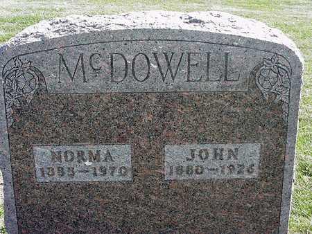 MCDOWELL, NORMA - Clayton County, Iowa | NORMA MCDOWELL