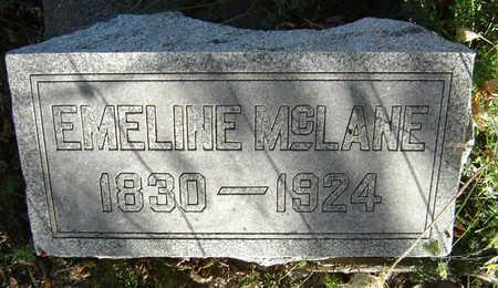 MCLANE, EMELINE - Clayton County, Iowa | EMELINE MCLANE