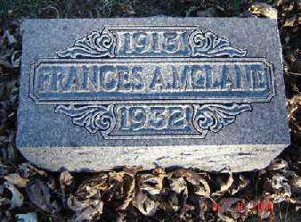 MCLANE, FRANCES - Clayton County, Iowa | FRANCES MCLANE
