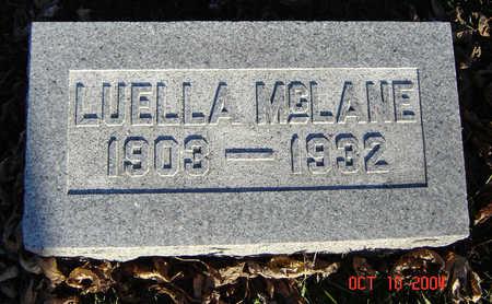 MCLANE, LUELLA - Clayton County, Iowa | LUELLA MCLANE