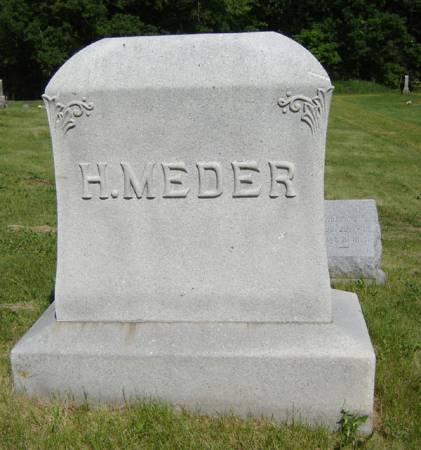 MEDER, H. - Clayton County, Iowa | H. MEDER