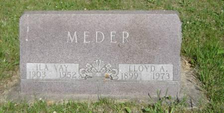 MEDER, LLOYD A. - Clayton County, Iowa | LLOYD A. MEDER