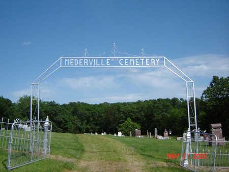 MEDERVILLE, CEMETERY - Clayton County, Iowa | CEMETERY MEDERVILLE