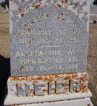 MEIER, CLAUS - Clayton County, Iowa | CLAUS MEIER