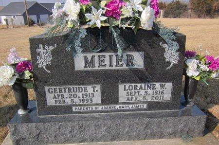 MEIER, LORAINE W. - Clayton County, Iowa | LORAINE W. MEIER