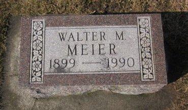 MEIER, WALTER M. - Clayton County, Iowa | WALTER M. MEIER