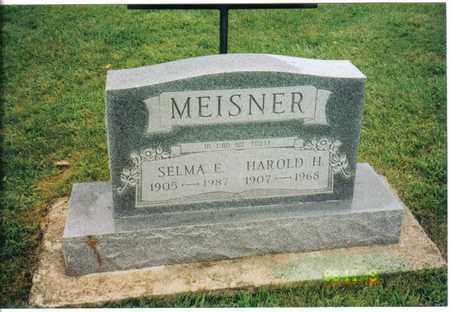 MEISNER, HAROLD & SELMA - Clayton County, Iowa   HAROLD & SELMA MEISNER