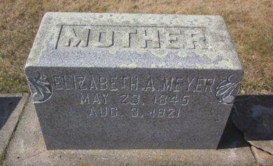 MEYER, ELIZABETH A. - Clayton County, Iowa | ELIZABETH A. MEYER