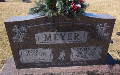 MEYER, JOHN C. - Clayton County, Iowa | JOHN C. MEYER