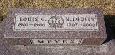 MEYER, LOUIS G. - Clayton County, Iowa   LOUIS G. MEYER