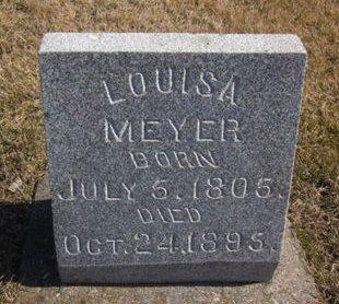 MEYER, LOUISA - Clayton County, Iowa | LOUISA MEYER