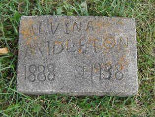 MIDLETON, ALVINA - Clayton County, Iowa | ALVINA MIDLETON