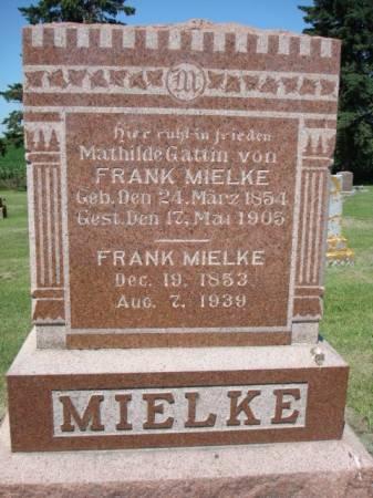 MIELKE, MATHILDE - Clayton County, Iowa | MATHILDE MIELKE