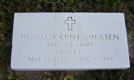 MIERSEN, DONALD KENT - Clayton County, Iowa | DONALD KENT MIERSEN