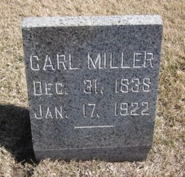 MILLER, CARL - Clayton County, Iowa | CARL MILLER