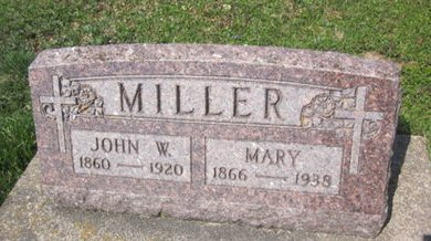 MILLER, MARY - Clayton County, Iowa | MARY MILLER