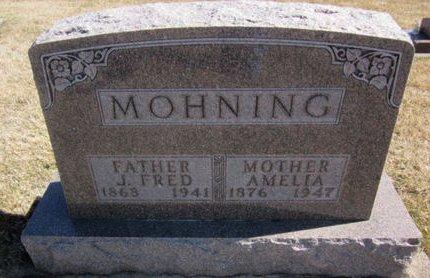 MOHNING, AMELIA - Clayton County, Iowa | AMELIA MOHNING