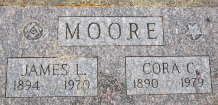 MOORE, CORA C. - Clayton County, Iowa | CORA C. MOORE
