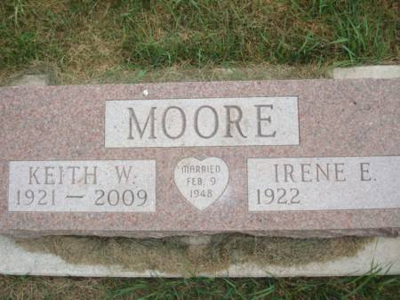 MOORE, KEITH W. - Clayton County, Iowa | KEITH W. MOORE