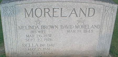 MORELAND, DAVID - Clayton County, Iowa | DAVID MORELAND
