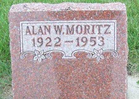 MORITZ, ALAN W. - Clayton County, Iowa   ALAN W. MORITZ