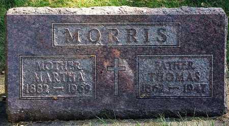 MCTAGGART MORRIS, MARTHA - Clayton County, Iowa | MARTHA MCTAGGART MORRIS