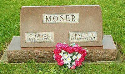 MOSER, ERNEST OSCAR - Clayton County, Iowa | ERNEST OSCAR MOSER