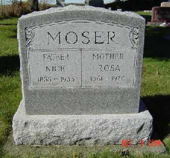 MOSER, ROSA - Clayton County, Iowa | ROSA MOSER