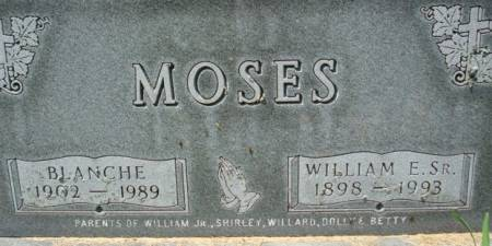 MOSES, BLANCHE - Clayton County, Iowa | BLANCHE MOSES