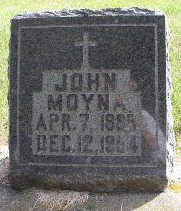 MOYNA, JOHN - Clayton County, Iowa | JOHN MOYNA