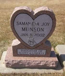 MUNSON, SAMANTHA JOY - Clayton County, Iowa | SAMANTHA JOY MUNSON